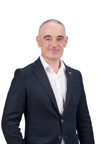 Esteban Calahorra. Gerente de A10